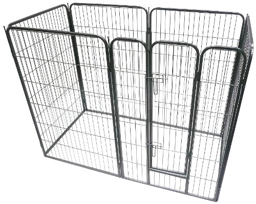 Heavy Duty Modular Puppy Exercise Play/ Whelping Pen Review